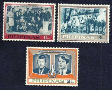 Buy Philippines MI IX-XI.Short Set.Not officially issued.John & Robert Kennedy,1968