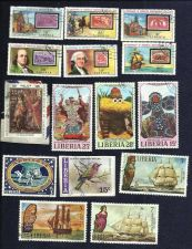 Buy Liberia LARGE Stamps! - Used