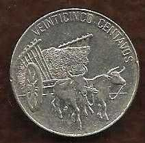 Buy Dominican Republic 25 Centavos 1989 Coin - Beautiful Coin!