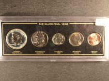 Buy 5 coin set - Silver the Final Year