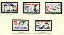 Buy 1991 Comedians Scotts 2562-2566 5 unused US stamps - Postal value *$1.45