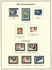 Buy 1991 US Commemoratives Love & Christmas