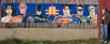 Buy Justice League Digitally Printed On Vinyl Banner