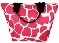 Buy Hot Pink Giraffe Insulated Lunch Bag-NWT