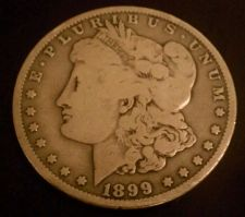 Buy 1899 MORGAN SILVER DOLLAR ** FREE SHIPPING ** GREAT INVESTMENT