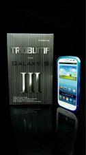 Buy Samsung Galaxy S III s3 Blue CNC Aluminum Metal Bumper Case TRIOBUMP i9300 USA