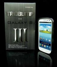 Buy Samsung Galaxy S III s3 Black Metal Bumper Case TRIOBUMP i9300 CNC Aluminum USA