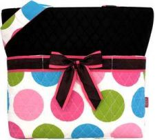 Buy Lollipop Drops Quilted Diaper Bag #LPDQ2121-BLACK-NWT