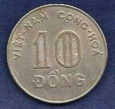 Buy Vietnam 10 Dong 1964 Coin