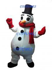Buy Professional Snowman Costume Mascot