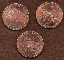 Buy 3 Penny 2009 Set - 3 varieties of pennies per set