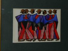 Buy Colorful Latin well dressed men cubist