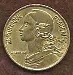 Buy 1972 5 CENTIMES REPUBLIQUE FRANCAISE COLLECTORS COIN RARE!