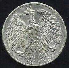 Buy 1952 Austria 5 Schilling Coin - nice piece!
