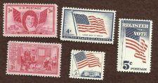 Buy US UNUSED STAMPS 3 Flag Varienties, betsy Ross, and Francis Scott Key