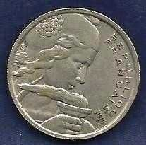 Buy 1955 REPUBLIQUE FRANCAISE 100 FRANCS Liberty Head Coin 1
