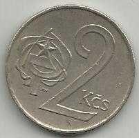 Buy CZECHOSLOVAKIA 1973 Two (2) Korun Coin