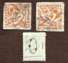 Buy Suriname lot of 3 used stamps