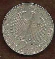 Buy GERMANY, FEDERAL REPUBLIC 2 MARK COIN 1958F