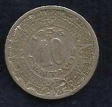 Buy World Coins - Mexico Mexican 10 Centavos 1936