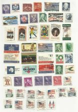 Buy US STAMP LOT 10 LOT OF USED STAMPS