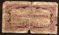 Buy FRANCE CHAMBRE DE COMMERCE DE Bordeaux 50 CENTIMES 1923