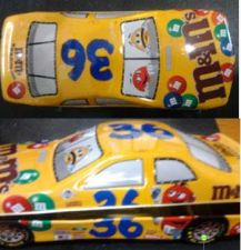 Buy M&M # 36 RACE CAR TIN BY MARS