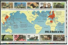 Buy World War II 1991 US Commemorative Stamp Sheet 1941 WWII ERA