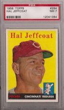 Buy 1958 Topps #294 Hal Jeffcoat PSA 7