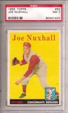 Buy 1958 Topps # 63 Joe Nuxhall PSA 7