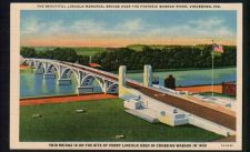 Buy Beautiful Lincoln Memorial Bridge Over the Historic Wabash River, Vincennes, IND