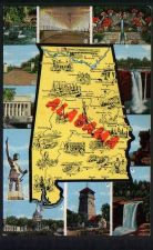 Buy Alabama map - 11 views