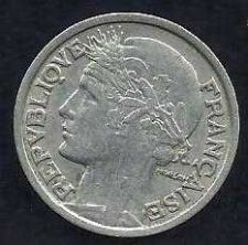 Buy FRANCE 2 FRANCS 1947 COIN WWII Currency