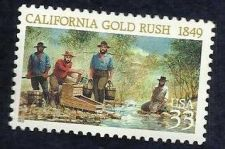 Buy 1999 33c California Gold Rush Scott 3316 Mint F/VF NH