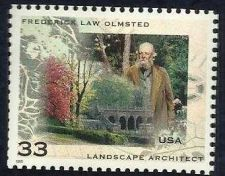 Buy Scott #3338 33-Cent Frederick Law Olmstead Single - MNH