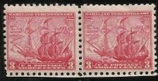 Buy US 736 Maryland Tercentenary 1934 - 3c MINT pair