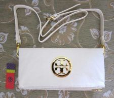 Buy NEW TORY BURCH IVORY WHITE LEATHER CLUTCH WALLET PURSEBAG (RRP$195.00)