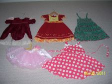 Buy Lot of 4 girl dresses and 1 skirt, size 2T- 4T