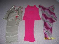 Buy Lot of 3 women sleepwear sets, size PS