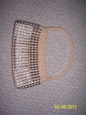 "Buy New Women Pearl Handbag, size 9x5"""