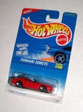 Buy 1996 Hot Wheels HW #496 Red FERRARI 308 GTS Blister Pack 5SS
