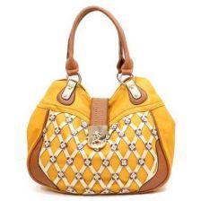 Buy High fashion yellow handbag