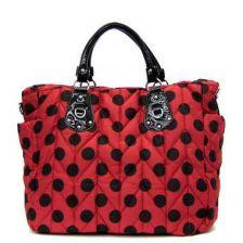 Buy High fashion burgundy handbag