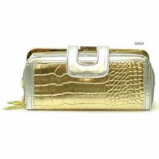 Buy High fashion gold wallet
