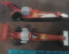 "Buy Mattel Hot Wheels McDonalds Race Car - McDonalds - 1993 - 5"" long"