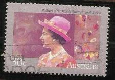 Buy 1984 Birthday Queen Elizabeth II Australia - USED