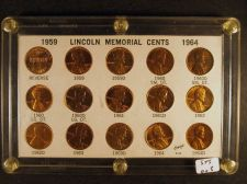 Buy 15 Lincoln Memorial Cents