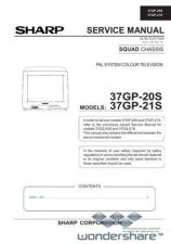 Buy Sharp 37GP20S-21S SM GB Manual.pdf_page_1 by download #178395