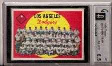 Buy 1959 Topps #457 Dodgers Team GAI 6.5