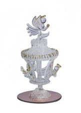 Buy SPUN GLASS ANGEL CAROUSEL